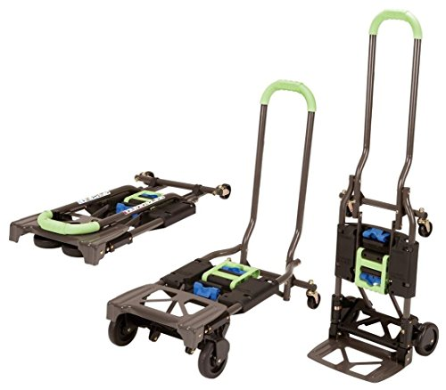 Cosco Shifter 300-lb Capacity Multi-Position Heavy Duty Folding Dolly  $66 at Amazon