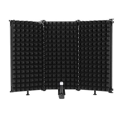 OurLeeme Escudo de aislamiento de micrófono, Panel de grabación...