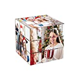 Cubo Fotografico Personalizzato Cornice Fotografica Puzzle Fotografico Cubo Di Rubik 3D Ruotabile Con 6 Immagini Compleanno Regali Personalizzati Di Natale Per Bambini Padre Madre Fidanzata Fidanzato