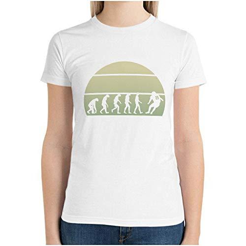 XunYun Rugby Evolution - Camiseta de manga corta para madre e hija