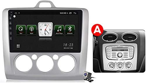 Android 10 Car Radio de Navegación GPS para Ford Focus 2 2004-2011 con 9 Pulgada Pantalla Táctil Support FM Am RDS DSP/MP5 Player/BT Steering Wheel Control/Carplay