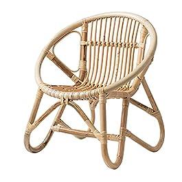 Chaise en rotin pour Enfants , Rotin Naturel en Osier Fait à la Main -Loisir, Jouer Chaise pour Enfants , avec Dossier…