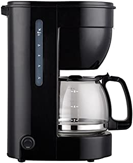 Cafetera eléctrica 0.75l, 6 tazas, jarra de cristal, ERP.