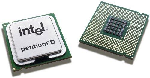 Intel Pentium D 820 2.8GHz Prozessor FSB800 2x1MB Cache S775 mit Kühler EM64 Technologie BTX Standard