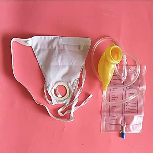 NQCT Bolsa de urinario Colector de orina Cama Bolsa de orina ventilada Incontinencia urinaria Camping Material portátil 0608 (Color : Men)