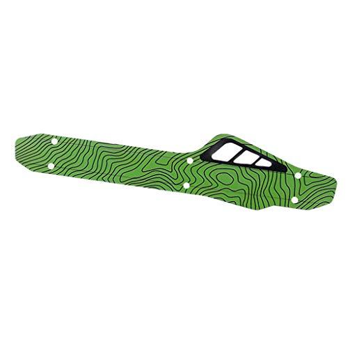 #N/A Fahrrad Ketten Strebenschutz Rahmenschutz Schutz Kettenschutz Schutzblech für Mountainbike Fahrräder - Grün