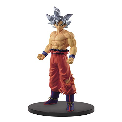 Banpresto Dragon Ball Super Creator X Creator PVC Statue Son Goku Ultra Instinct Ver. B 19 cm BP16336