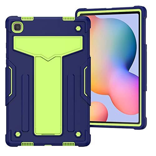 Funda para tablet Galaxy Tab S6 Lite 10.4, resistente a los golpes, protección contra caídas con función atril de tres capas híbrido cuerpo completo para Samsung Galaxy Tab S6 Lite 10.4 Modelo P610/P6
