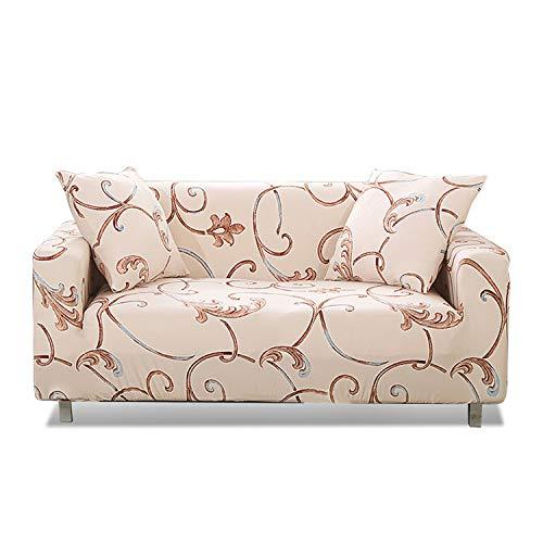PETCUTE Fundas sofá elásticas Cubre Sofa Fundas sofá 1 plazas Ajustable elástica