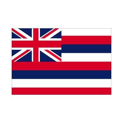 5Ft X 3Ft 5'X3' Vlag Hawaii America State American Usa door Midland Flags