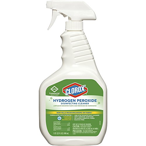 Clorox Hydrogen Peroxide Disinfecting Cleaner Spray - 1 QT.- Kills Norovirus in 1 min.