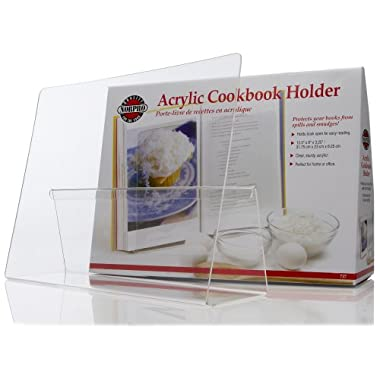 Norpro Acrylic CookBook/IPad / Tablet Holder
