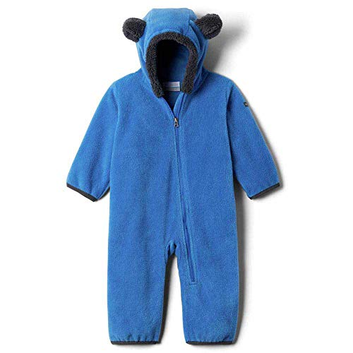 Columbia Kinder Tiny Bear II Bunting Außenschicht Polyfleece, helle Indigo, 0/3 mo