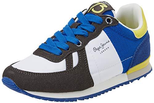Pepe Jeans Jungen Sydney Trend Boy Ss21 Sneaker, 999black, 40 EU