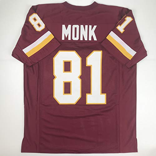 Unsigned Art Monk Washington Burgundy Custom Stitched Football Jersey Size XL New No Brands/Logos