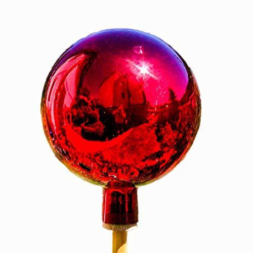 Unbekannt Thüringer Rosenkugel - 12 cm - Rot