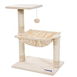 AmazonBasics Cat Tree with Scratching Posts - Large by