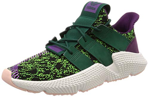 adidas Originals x Dragonball Z Prophere Cell, Solar Green-Collegiate Green-Core Black, 6,5
