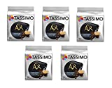 TASSIMO L'Or Café Fortissimo - 5 paquetes de 16 cápsulas: Total 80 unidades