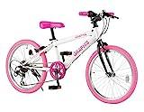 GRAPHIS(グラフィス) 子供用自転車 クロスバイク 24インチ 6段変速 スキュワー...