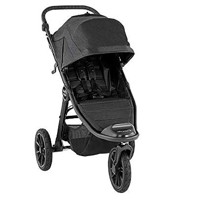 Baby Jogger 2111635 City Elite 2 - Cochecito plegable para cualquier tipo de terreno, color gris