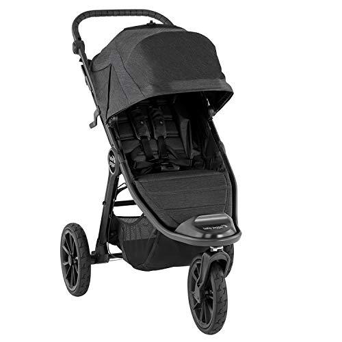 Baby Jogger City Elite2 Kinderwagen für jedes Gelände | Zusammenklappbarer und tragbarer | Granite (dunkelgrau)