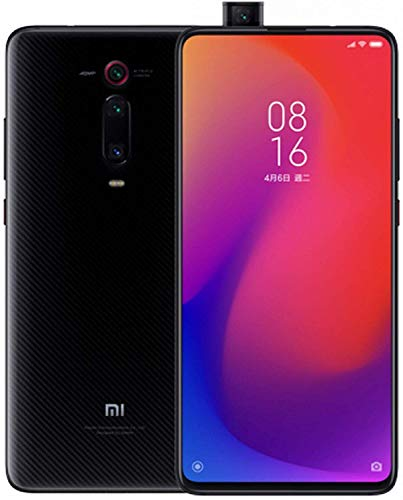Xiaomi Mi 9T Pro (128GB, 6GB RAM) 6.39' Display, Snapdragon 855, AI Rear Triple Camera, Dual SIM GSM Factory Unlocked - US & Global 4G LTE International Version (Carbon Black)
