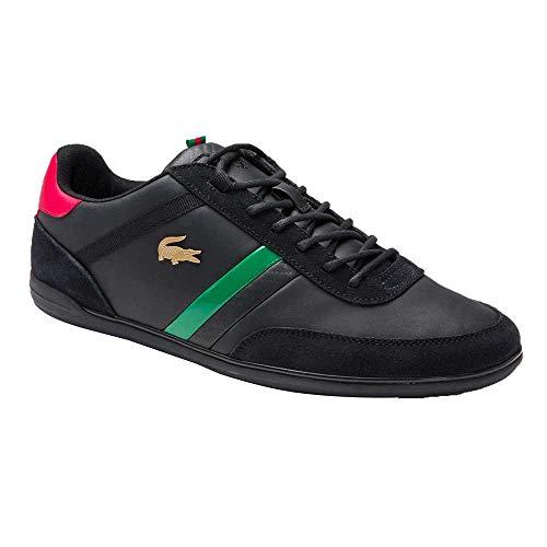 Lacoste Giron Sneaker schwarz rot grün 46