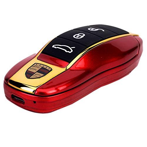"Blackzone Neo 911, Basic Flip Car Shape Mobile Phone with Dual Sim & 1.44"" Screen Display (Red)"