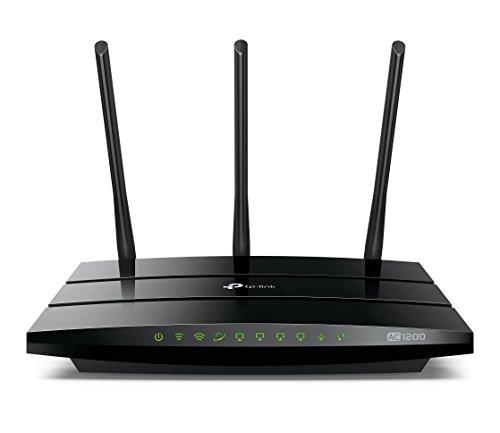 TP-Link WiFi 無線LAN ルーター Archer C1200 11ac 867 + 300Mbps デュアルバンド 【 iPhone X / iPhone 8 / 8 Plus 対応 】 (利用推奨環境 5人 4LDK 3階建)