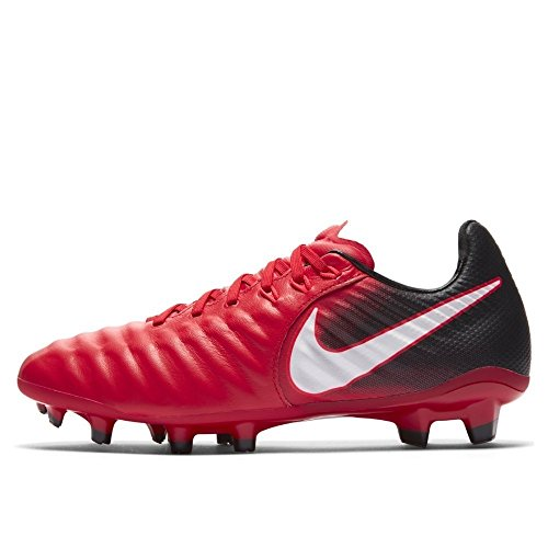 Nike Junior Tiempo Legend VII FG Football Boots 897728 Soccer Cleats (UK 5.5 us 6Y EU 38.5, University red White Black 616)