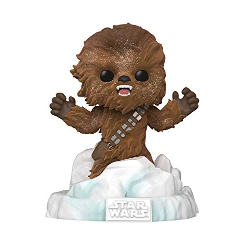 Funko Pop! Deluxe Star Wars: Battle at Echo Base Series - Flocked Chewbacca, Amazon Exclusive, Figure 3 of 6