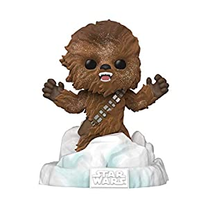 Funko Pop! Deluxe Star Wars: Battle at Echo Base Series - Flocked Chewbacca Vinyl Figure, Amazon Exclusive, Figure 3 of… - 41uy20R x6L - Funko Pop! Deluxe Star Wars: Battle at Echo Base Series – Flocked Chewbacca Vinyl Figure, Amazon Exclusive, Figure 3 of…