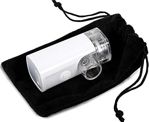 Nebulizer - Wizard Research Laboratories Handheld Sized Portable Nebulizer Silent Rechargeable for Saline Albuterol & Other Liquids (B084KZ8PSN)