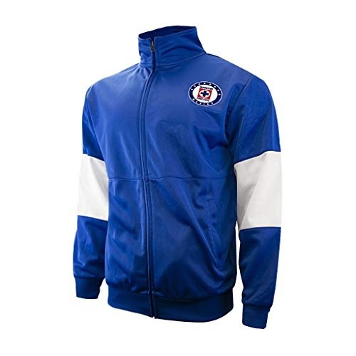 Icon Sports Men Cruz Azul Official Licensed Soccer Jacket Football 003- Small