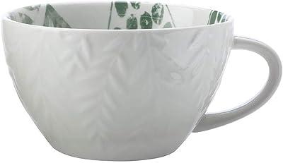 Maxwell and Williams Panama Jumbo Mug, 540 ml Capacity, Frond Kiwi