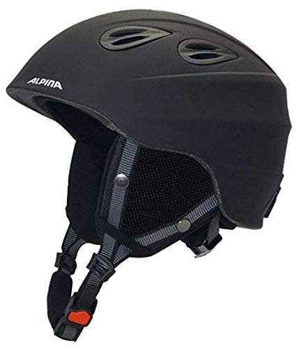 Alpina Sports Unisex– Erwachsene JUNTA 2.0 Skihelm, Black matt, 57-61