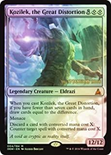 Magic: the Gathering - Kozilek, the Great Distortion (004/184) - Prerelease & Release Promos - Foil