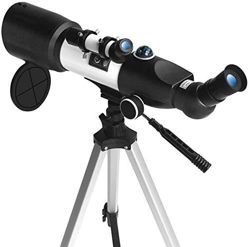 LMM Teleskop, Travel Scope, Astronomischer réfracter Teleskop mit Stativ & Finder Scope, Brennweite 350mm, Multi-Layer-Green Film, Finder Spiegel 5 * 20 (Color : -, Size : -)