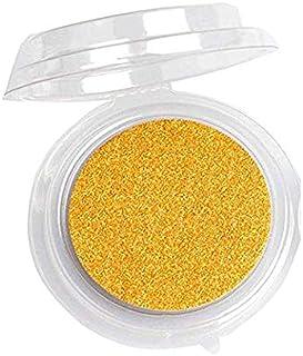 Kehuashina 20pcs Disposable Empty Clear Round False Eyelashes Storage Case Cosmetic Storage Box Eye Makeup Tool Place Eyelashes Gold