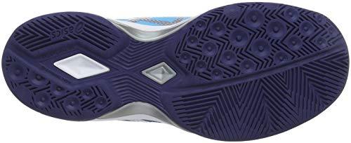 ASICS Damen Gel-Tactic Volleyballschuhe, Blau (Indigo Blue/Silver 400), 39 EU - 5