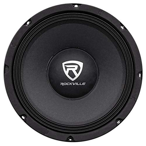 """Rockville RM104PRO 10"""" 600 Watt 4 Ohm SPL Car Midrange Mid-Bass Pro Speaker"""