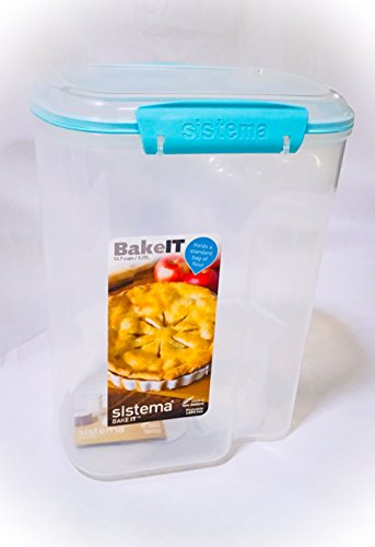 Sistema 1250zs 13.7 Cup Flour Container With Measuring Cup
