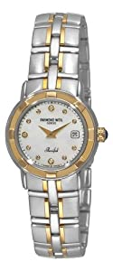 Raymond Weil Women's 9440-STG-97081 Parsifal Diamond Accented 18k Gold-Plated and Stainless Steel Watch image