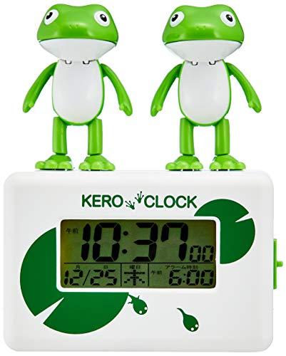 第6位:リズム時計工業『ケロクロック2』