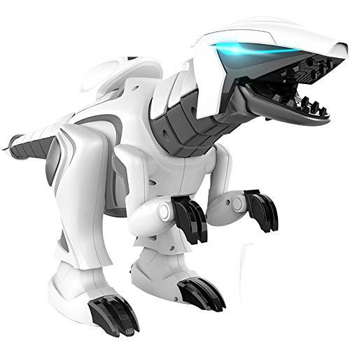 XLNB Juego Inteligente De Aprendizaje De Dinosaurios con Control Remoto, Narración Multifuncional, Robot De Canto Y Baile Dinosaurio Rompecabezas Juguetes De Regalo para Niños