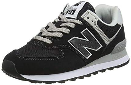 New Balance Mujer 574v2 Core, Zapatillas Negro (Black), 40 EU