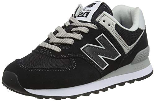 New Balance 574v2 Core, Scarpa da Tennis Donna, Nero (Black), 38 EU