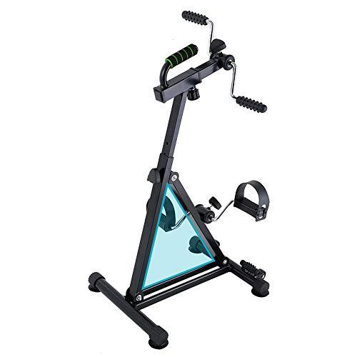 OUYA Bicicleta De Ciclismo De Interior, Bicicleta De Spinning De Fitness De Entrenamiento Cardiovascular En Casa, Mini Equipo De Fitness para Piernas Y Brazos