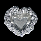 Don Drumm Small Heart-Shaped Bowl | Don Drumm Studios | Akron, OH